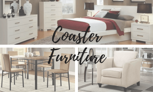 coaster furniture brand banner