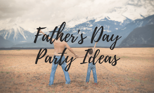fathers day party ideas banner