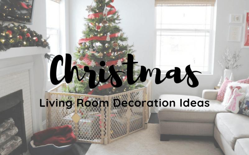 Christmas Living Room Decoration Ideas