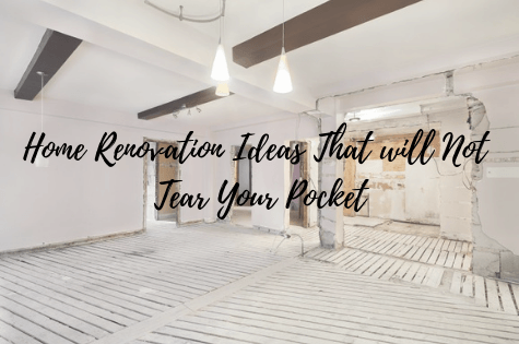 home renovation ideas banner