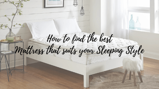how to find suitable mattress banner