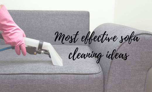 sofa cleaning ideas