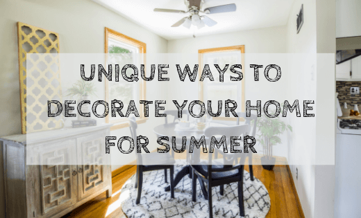 summer home decoration ideas