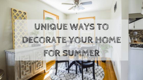summer home decoration ideas