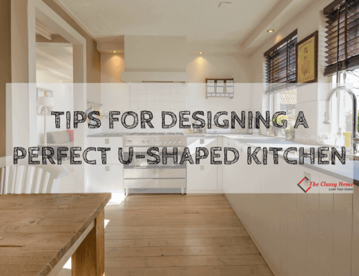 banner u shaped kitchen design tips