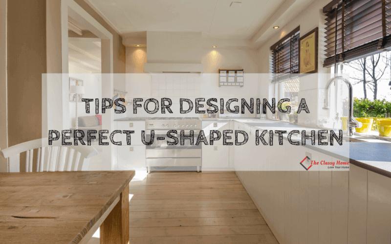 banner u shaped kitchen design tips