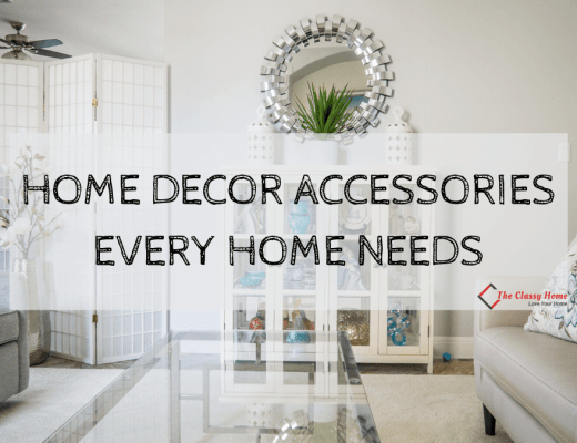 home decor accessories banner