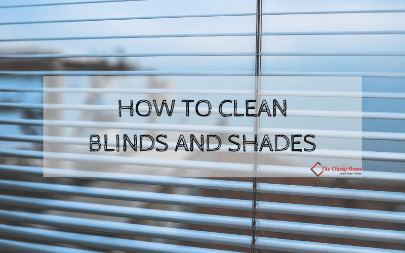 clean blinds and shade