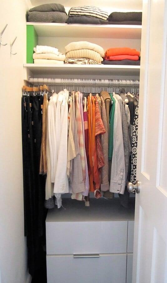 organize wardrobe thoughtfully