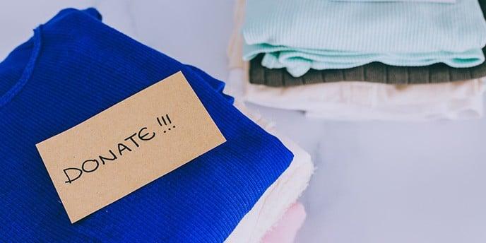 purge or donate cloth
