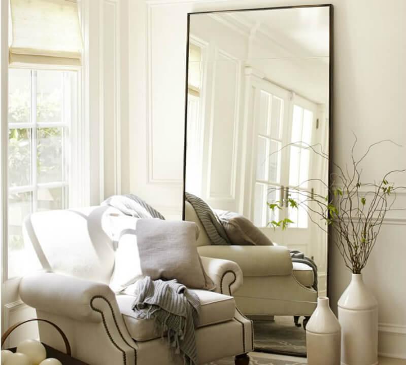 use mirror to decor