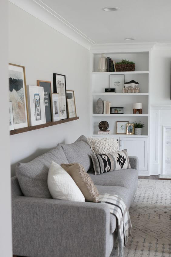use wall art to decor