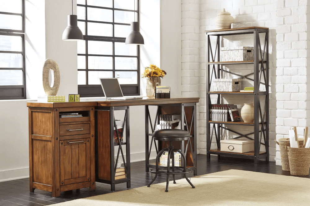 industry style home office