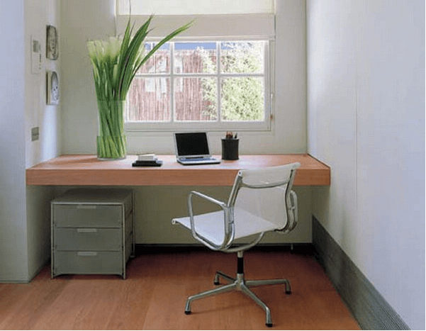 minimalist style office decor