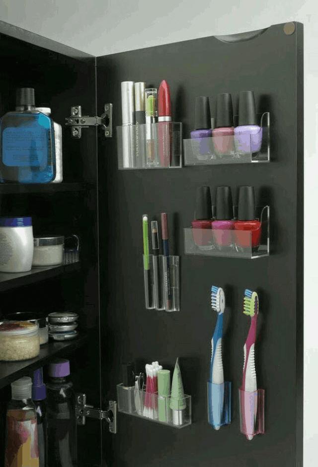 inside cabinet storage