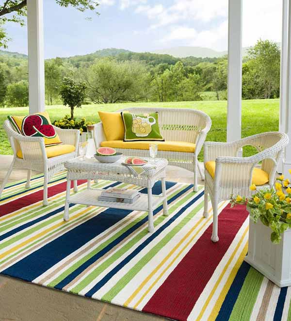 rug for patio