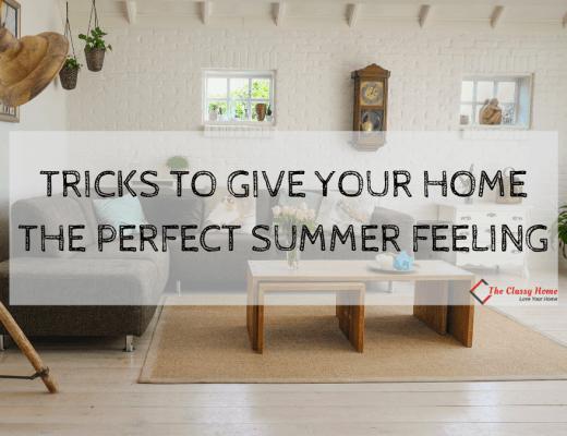 summer home decor tricks banner