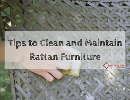 tips to clean and maintain rattan furniture